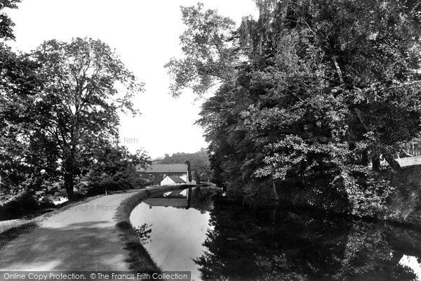 Photo of Newport, Allt-yr-Yn, on the Canal 1893, ref. 32639