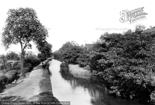 Photo of Allt Yr Yn, On The Canal 1893