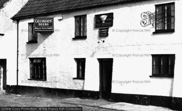 Photo of Almondsbury, Bowl Inn c.1955