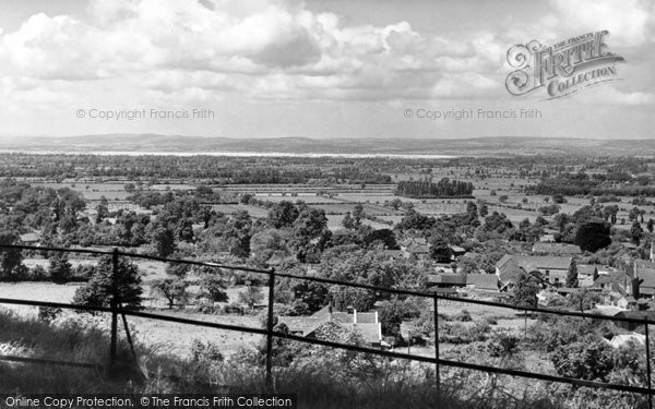 Photo of Almondsbury, general view c1955