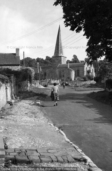 Photo of Almondsbury, St Mary's Church c.1955