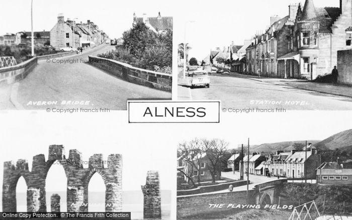 Photo of Alness, Composite c.1960