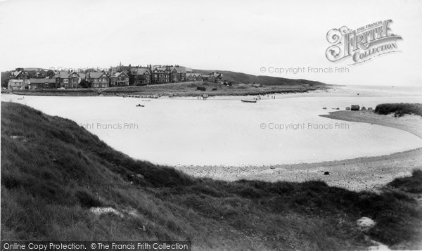 Photo of Alnmouth, From Church Hill c.1960