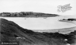 Alnmouth, From Church Hill c.1960