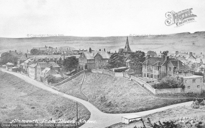 Photo of Alnmouth, From Divers Knowe c.1955