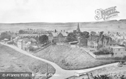 Alnmouth, From Divers Knowe c.1955