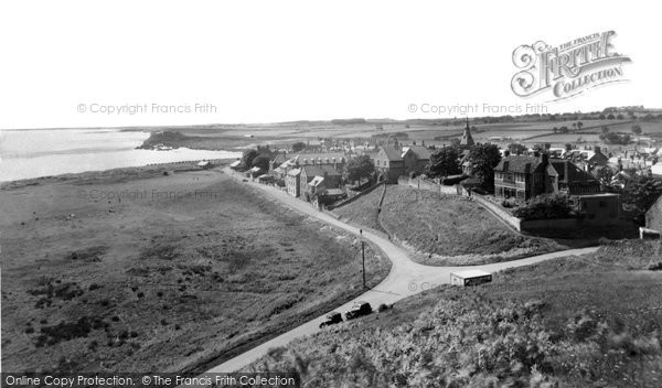 Photo of Alnmouth, General View c.1955