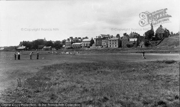 Alnmouth, Golf Links c.1955
