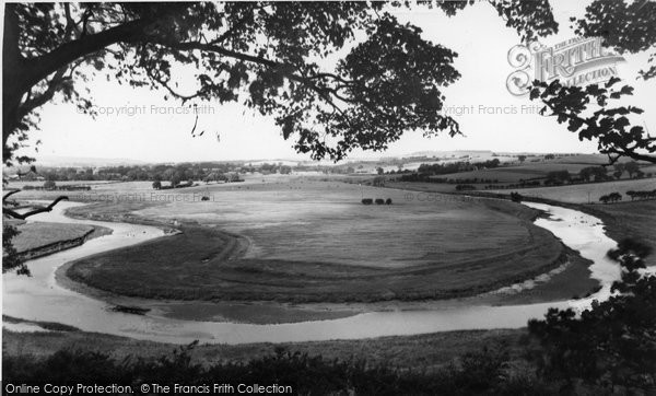 Photo of Alnmouth, Horse Shoe Bend c.1955