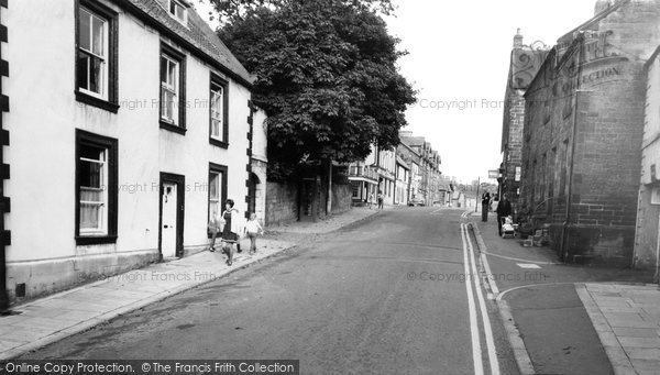 Photo of Alnmouth, Main Street c1965, ref. A222076