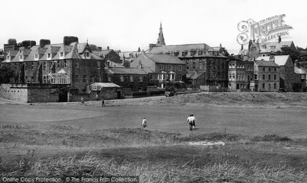 Photo of Alnmouth, Marine Drive from the Links c1965, ref. A222021