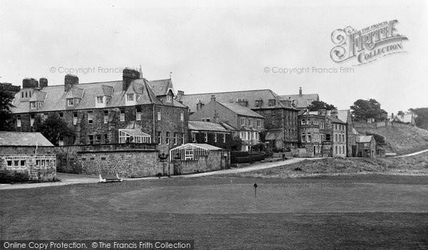 Photo of Alnmouth, Marine Road c.1955