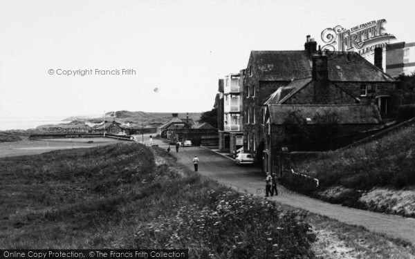 Photo of Alnmouth, Marine Road c.1965