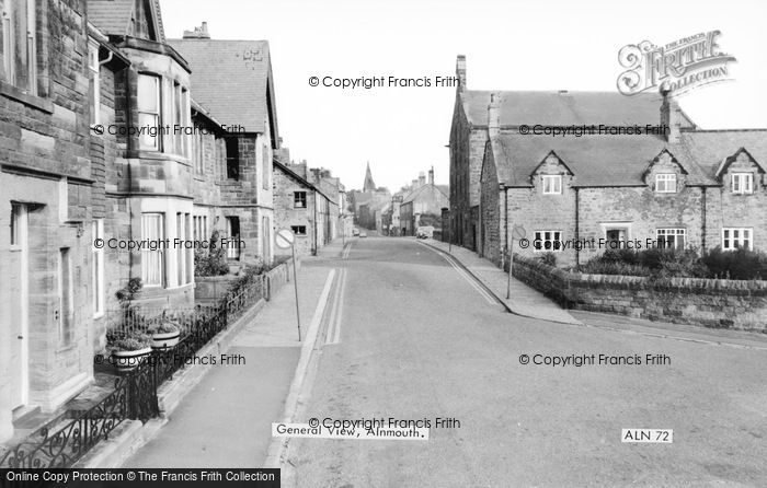 Photo of Alnmouth, Riverside Road c.1965
