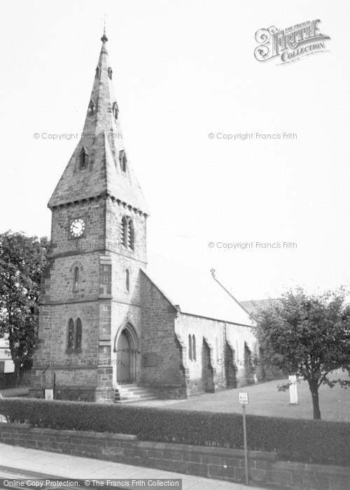 Photo of Alnmouth, St John The Baptist Parish Church c.1965