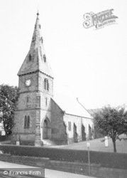 Alnmouth, St John The Baptist Parish Church c.1965