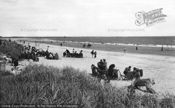Photo of Alnmouth, the Beach c1965, ref. A222029