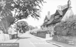 Alnmouth, The Old Road c.1955