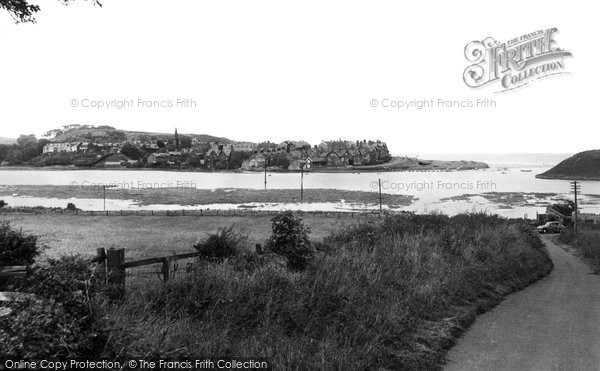Photo of Alnmouth, the River Aln c1955