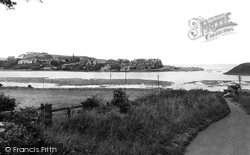 Alnmouth, The River Aln c.1955