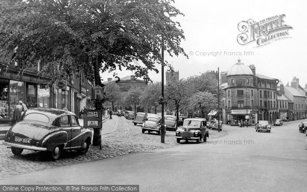 Photo of Alnwick, Bondgate Hill c1955, ref. A223019
