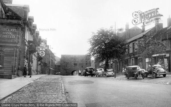 Photo of Alnwick, Bondgate Within c.1965