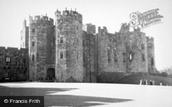 Castle, 14th Century Octagonal Towers 1950, Alnwick
