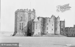 Alnwick, Castle c.1950