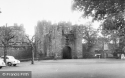 Alnwick, Castle Entrance c.1965