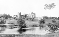 Alnwick, Castle From The Pastures c.1881