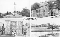Alnwick, Composite c.1955