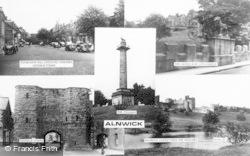Alnwick, Composite c.1965