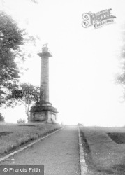 Alnwick, Duke Of Northumberland's Monument c.1965