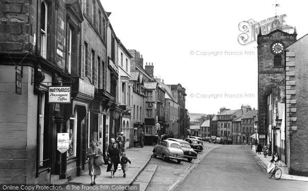 Photo of Alnwick, Fenkle Street 1955, ref. A223022