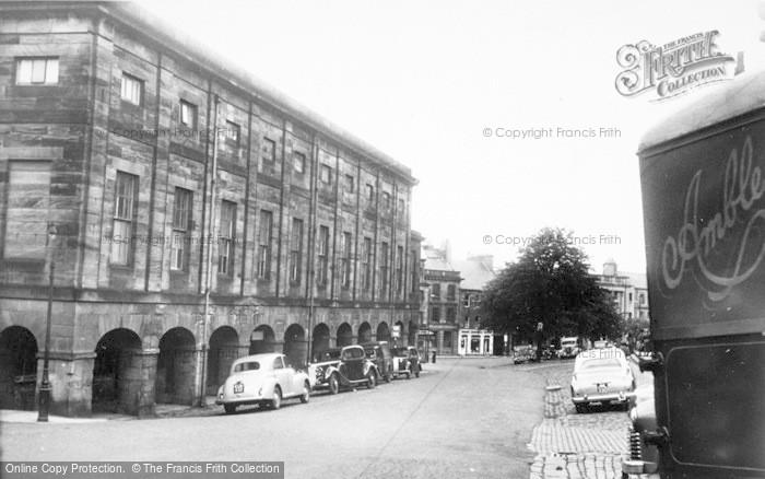 Photo of Alnwick, Market Hall And Market Street c.1965