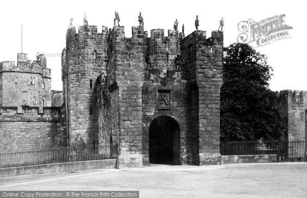 Photo of Alnwick, the Barbican 1881, ref. 13972