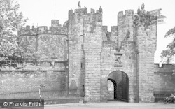 Alnwick, The Barbican c.1955