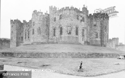 Alnwick, The Castle c.1950