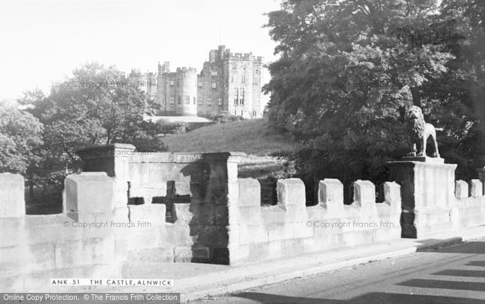 Photo of Alnwick, The Castle c.1965