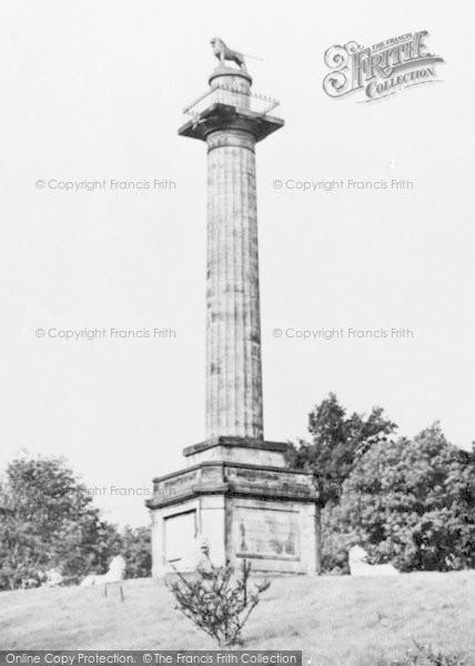 Photo of Alnwick, The Column c.1950