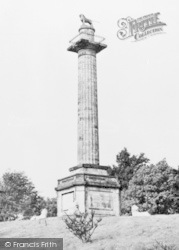 Alnwick, The Column c.1950