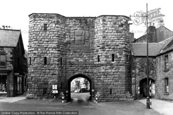 Photo of Alnwick, the Hotspur Gate c1955, ref. A223006