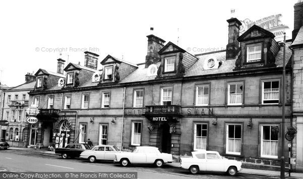 Photo of Alnwick, the White Swan Hotel c1965, ref. A223056