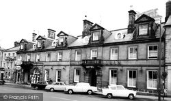 Alnwick, The White Swan Hotel c.1965