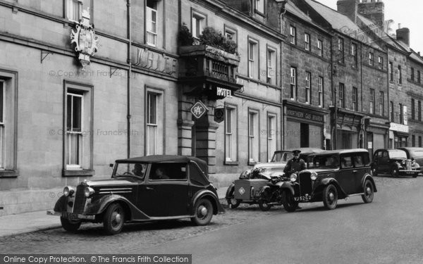 Photo of Alnwick, Cars c1955, ref. A223007X
