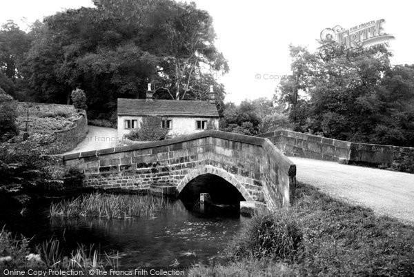 Alport,Mill Bridge c1960,Derbyshire