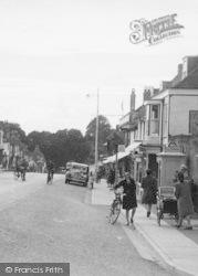 Alresford, A Telephone Kiosk c.1950