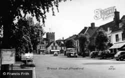 Alresford, Broad Street c.1955