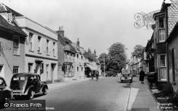 Alresford, East Street c.1950