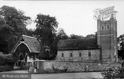 Alresford, Old Alresford Church c.1950